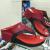 Sandal Wedges Wanita Crocodile Merah KL